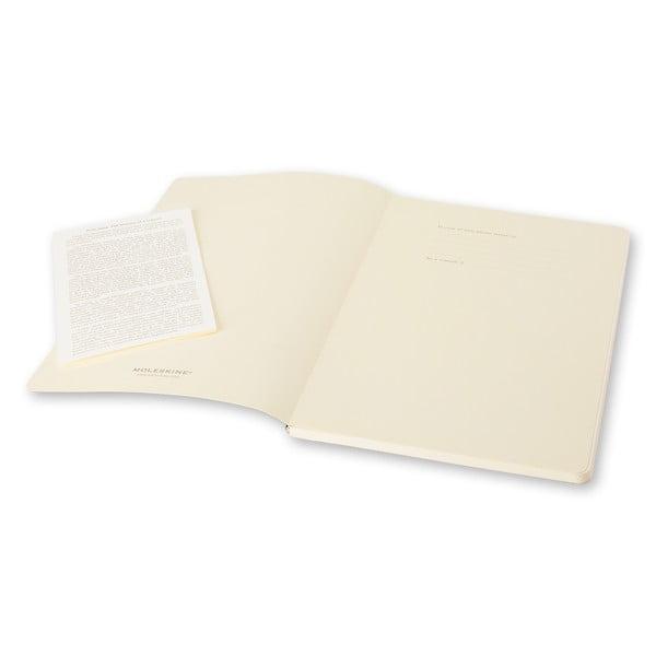 Sada 2 sivých zápisníkov Moleskine Volant, linajkové
