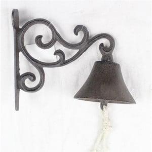 Liatinový nástenný zvonček Dakls Rustico