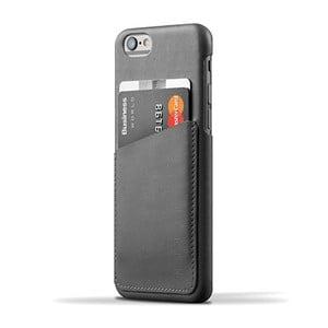Peňaženkový obal Mujjo Case na telefon iPhone 6 Gray