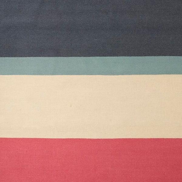 Ručne tkaný vlnený koberec Linie Design Lux, 140x200cm