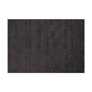 Vlnený koberec Luzern, 200x300 cm, tmavosivý