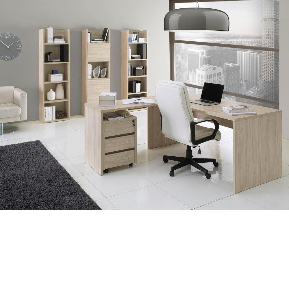 3552de080782 ... Svetlosivá prídavná rohová doska pracovného stola Global Trade  Scrivania ...