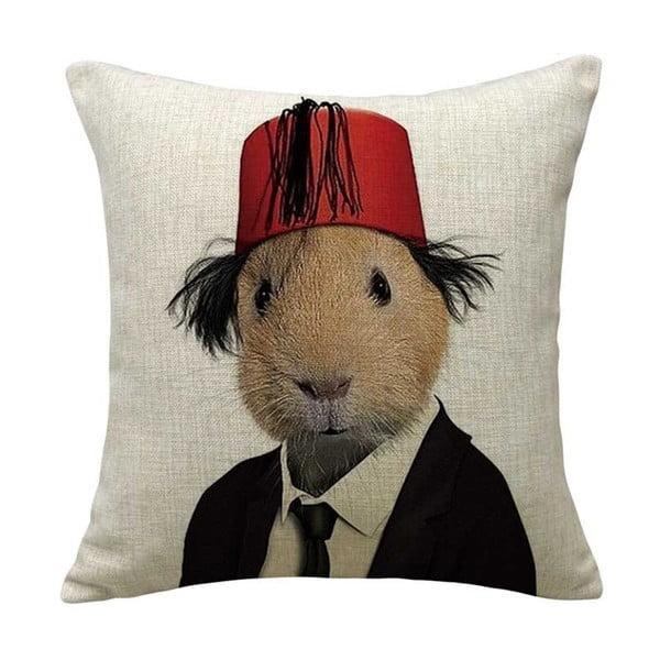 Obliečka na vankúš Hamster, 45x45 cm