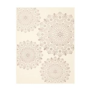 Vzorovaná deka Biederlack Mandala, 200 x 130 cm