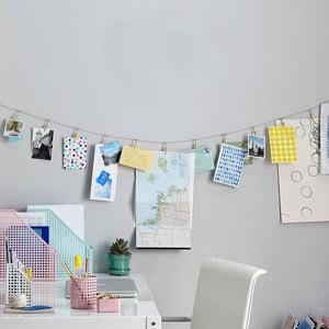 Závesné klipsy na fotky Design Ideas Tinsel
