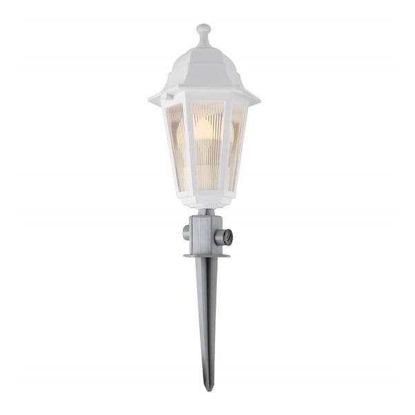Biele záhradné svietidlo LED Lantern