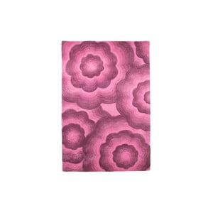 Vlnený koberec Realm 90 x 150 cm, fialový