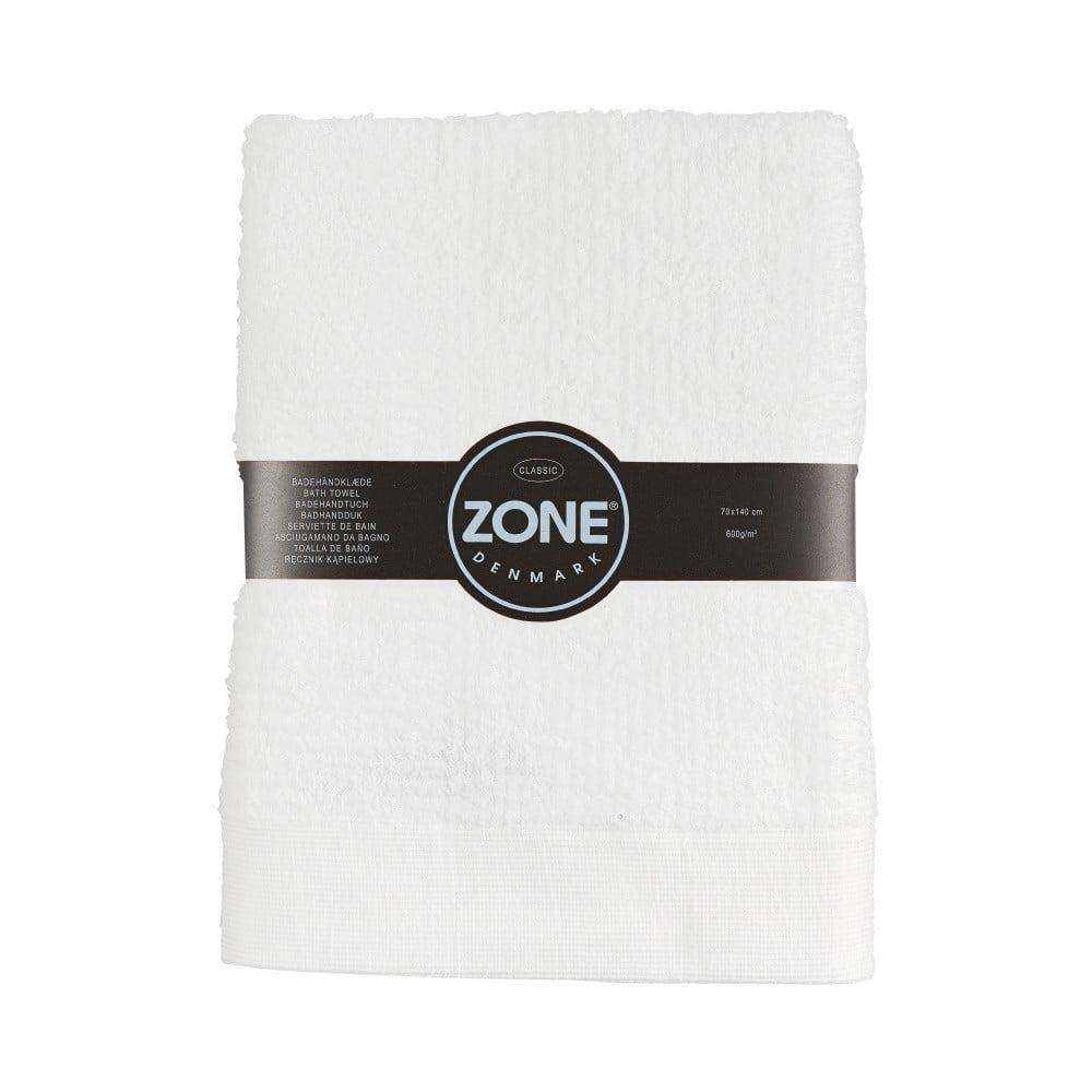 Biela osuška Zone Classic, 70 x 140 cm