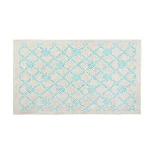Bavlnený koberec Oni 60x90 cm, tyrkysový