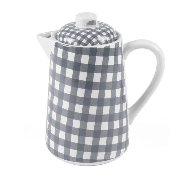 Kanvica na čaj, 1,5 litru, šedá