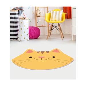 Detský vinylový koberec Floorart Mačka, 120 x 150 cm