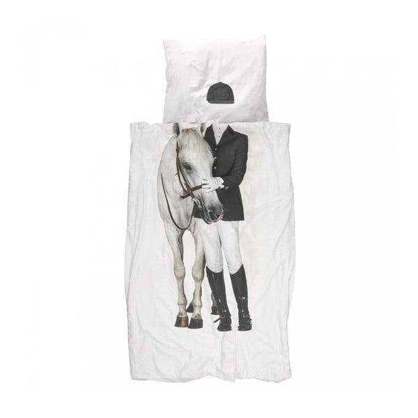 Bavlnené obliečky na jednolôžko Snurk Amazone, 140×200 cm