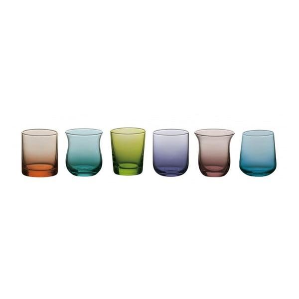 Sada 6 pohárov na vodu Desigual Colore