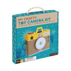Sada na výrobu fotoaparátu na hranie Petit collage Camera