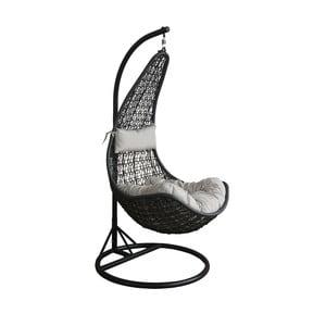 Záhradné závesné kreslo z umelého ratanu Timpani Swing