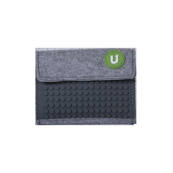 Pixelová peňaženka grey/grey
