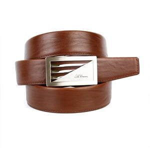 Pánsky kožený opasok 11N30 Brown, 100 cm