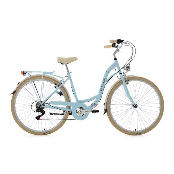 Bicykel City Bike Casino Light Blue 28'', výška rámu 48 cm, 6 prevodov