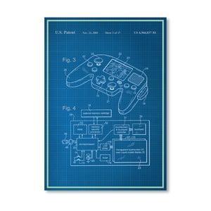 Plagát Video Game, 30x42 cm