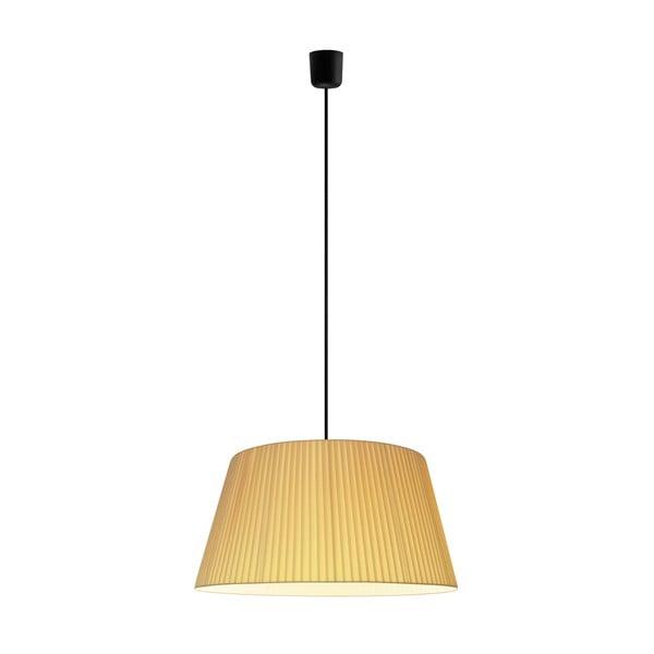 Svetlo Kami XL, ecru/čierny kábel