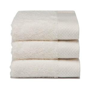 Set 3 uterákov Pure Cream, 30x50cm