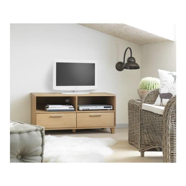 Televízny stolík s 2 zásuvkami Canett Capella