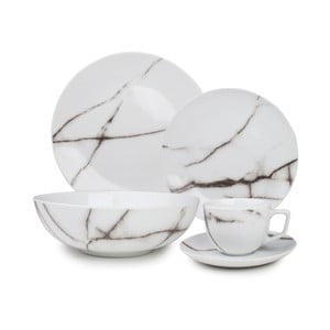 Set riadu Salt&Pepper Marble, 20 ks