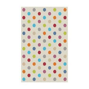 Koberec Universal Norge White Dots, 57×110cm
