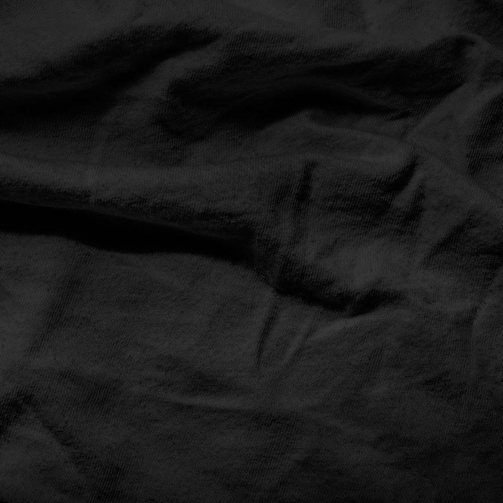 Čierna elastická plachta Homecare, 160-180 x 200 cm