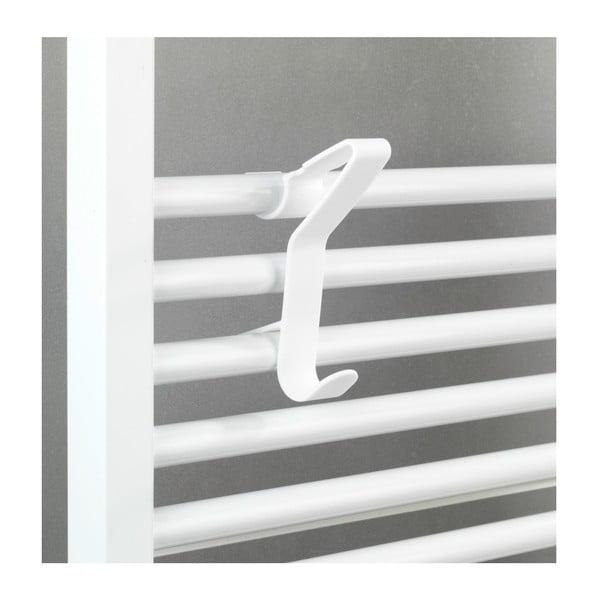 Biely háčik na radiátor Wenko Flexi