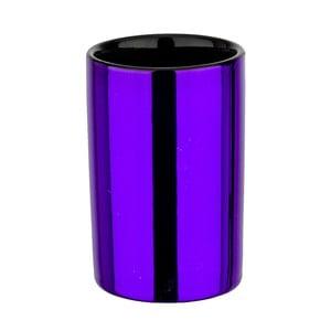 Kelímok na zubné kefky Purple Metallic