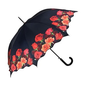 Dáždnik s rúčkou Von Lilienfeld Bouquet of Roses