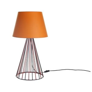 Stolová lampa Wiry Orange/Red/Black