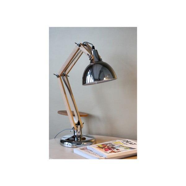 Chrómová stolová lampa Red Cartel Dexte