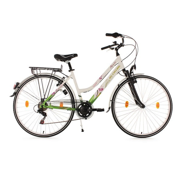 Dámsky bicykel City Bike Papilio Alu White, 28""