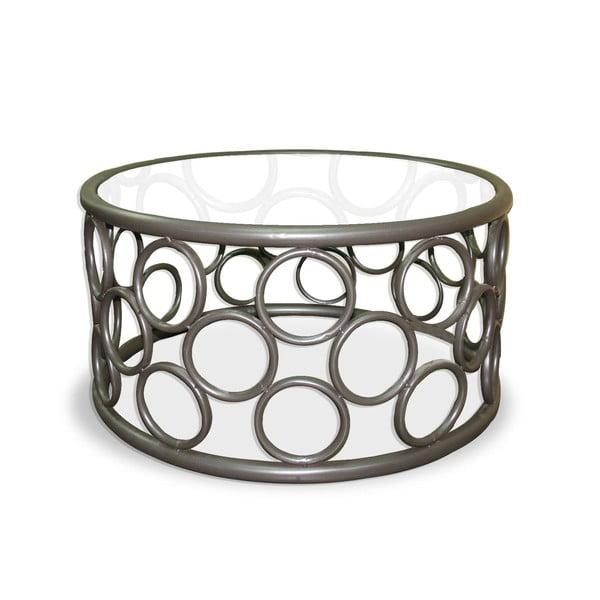 Kovový odkladací stolík Iron Circles