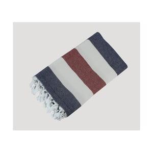Pruhovaná ručne tkaná osuška z prémiovej bavlny Homemania Turkish Hammam, 90×180cm