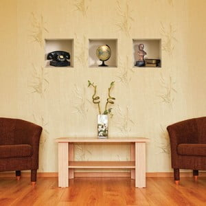 3D samolepky na stenu Nisha Classiques, 3 ks