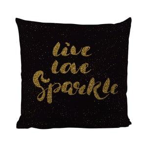 Vankúš Black Shake Love Live Sparkle, 50x50cm