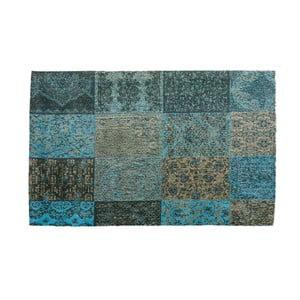 Modrý koberec z bavlny Cotex Colorado, 120 × 180 cm