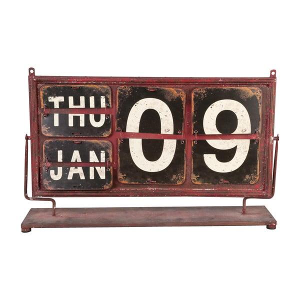 Červený kalendár  Clayre & Eef
