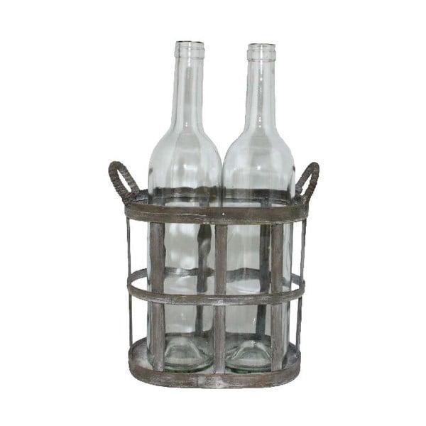 Košík s fľašami (2 ks)