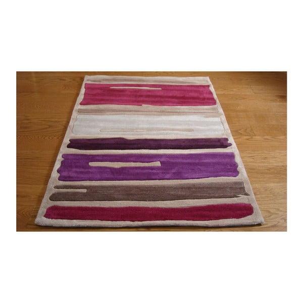 Koberec Paint Strokes Purple, 120x170cm