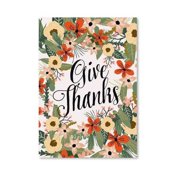 Plagát od Mia Charro - Give Thanks no. 1