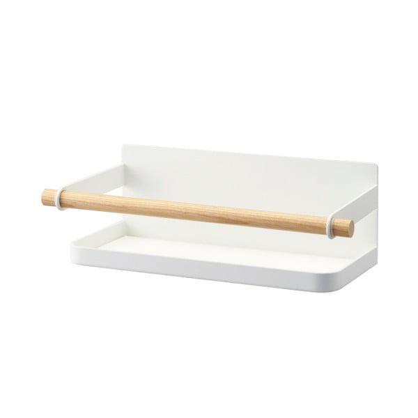 Biela magnetická polička na koreničky Yamazaki Tosca