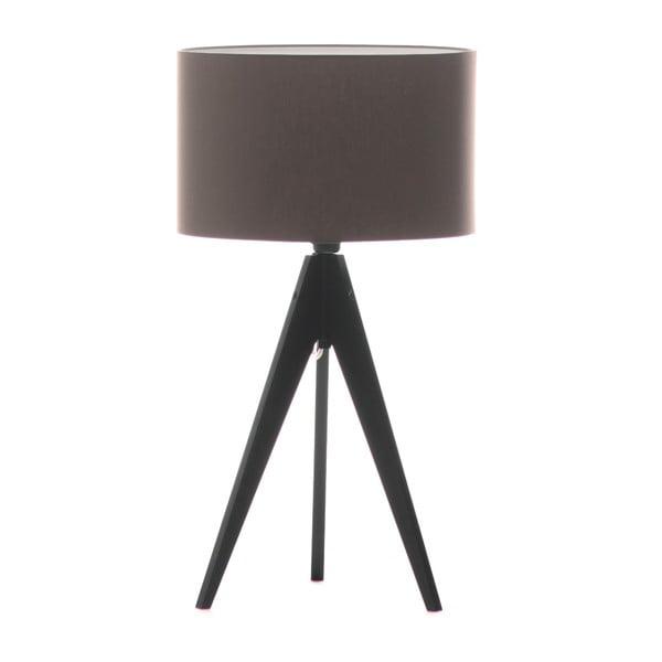 Stolná lampa Artist Dark Taupe/Black, 40x33 cm