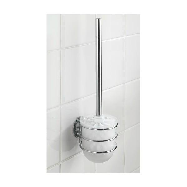 Samodržiaci stojan s toaletnou kefou Wenko Turbo, až 40 kg