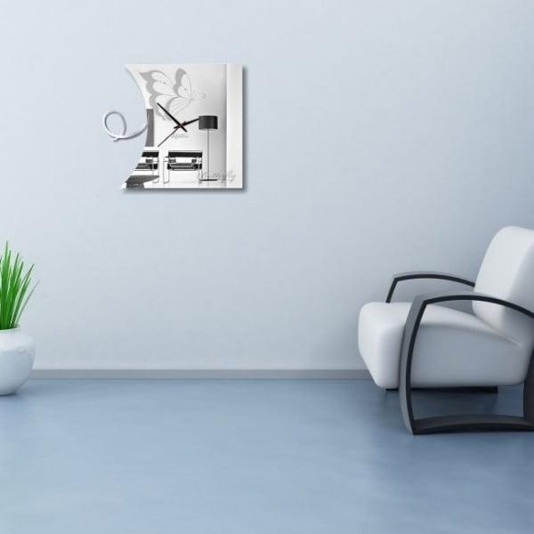 Nástenné hodiny Butterfly Clock