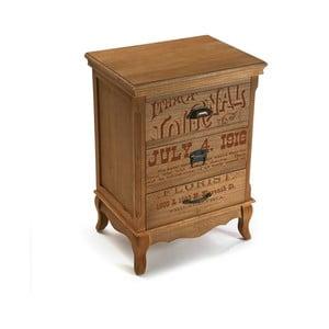 Drevená komoda so 4 zásuvkami Versa Riano