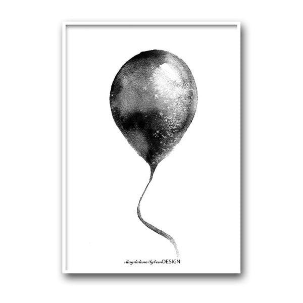 Autorský plagát Ballong, 30x40 cm
